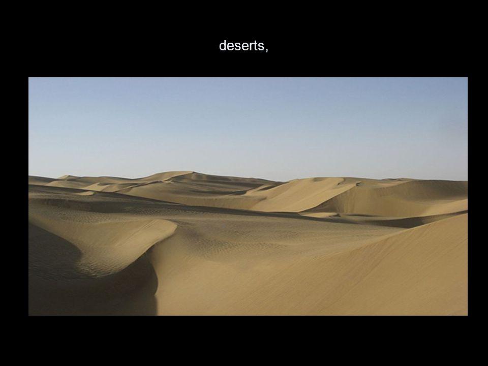 deserts,