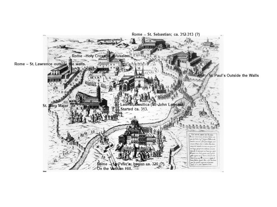 Lateran Basilica (St. John Lateran). Started ca.