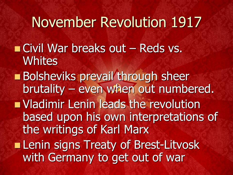 November Revolution 1917