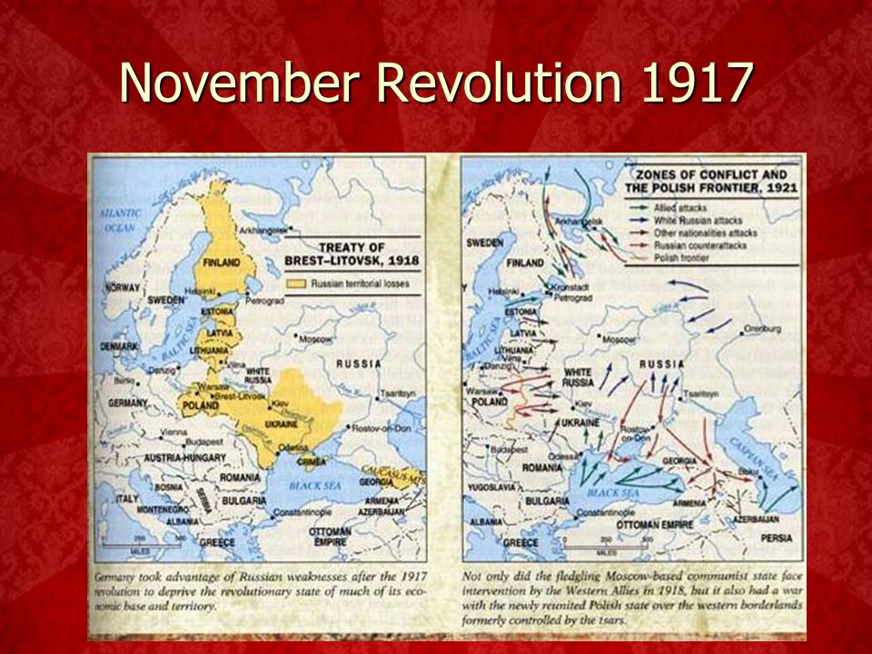 "Creation of a new state 1922- Bolsheviks ""reds"" win the civil war. 1922- Bolsheviks ""reds"" win the civil war. Unite most of the former Russian empire"