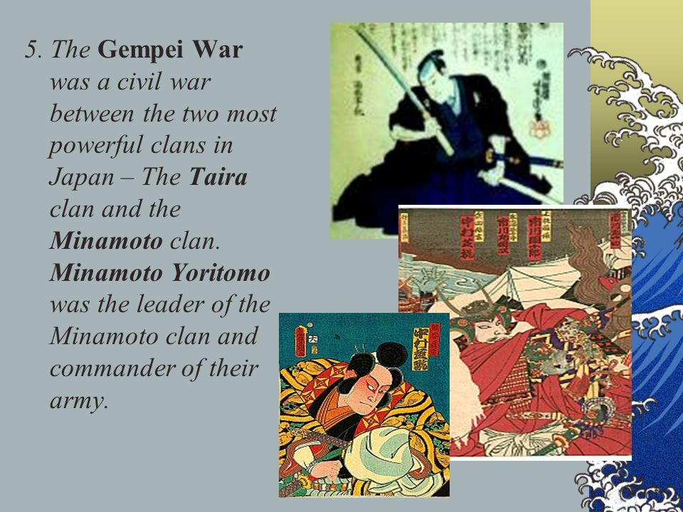MAJOR BATTLES OF THE GEMPEI WAR On which island were most battles fought?