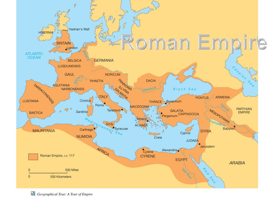By the end of the first century BCE, Rome had taken over the eastern Mediterranean and the Jewish population was spread through many cities of the east.