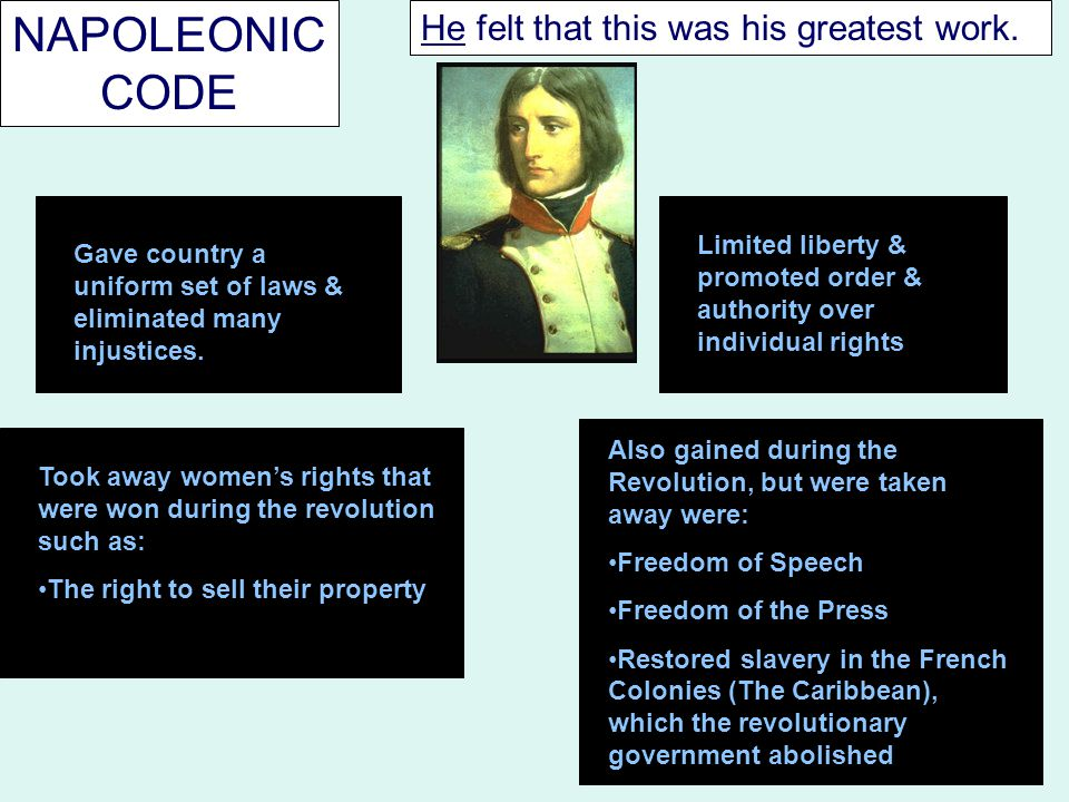 In 1804, he decided to make himself emperor.He was supported by the French people.