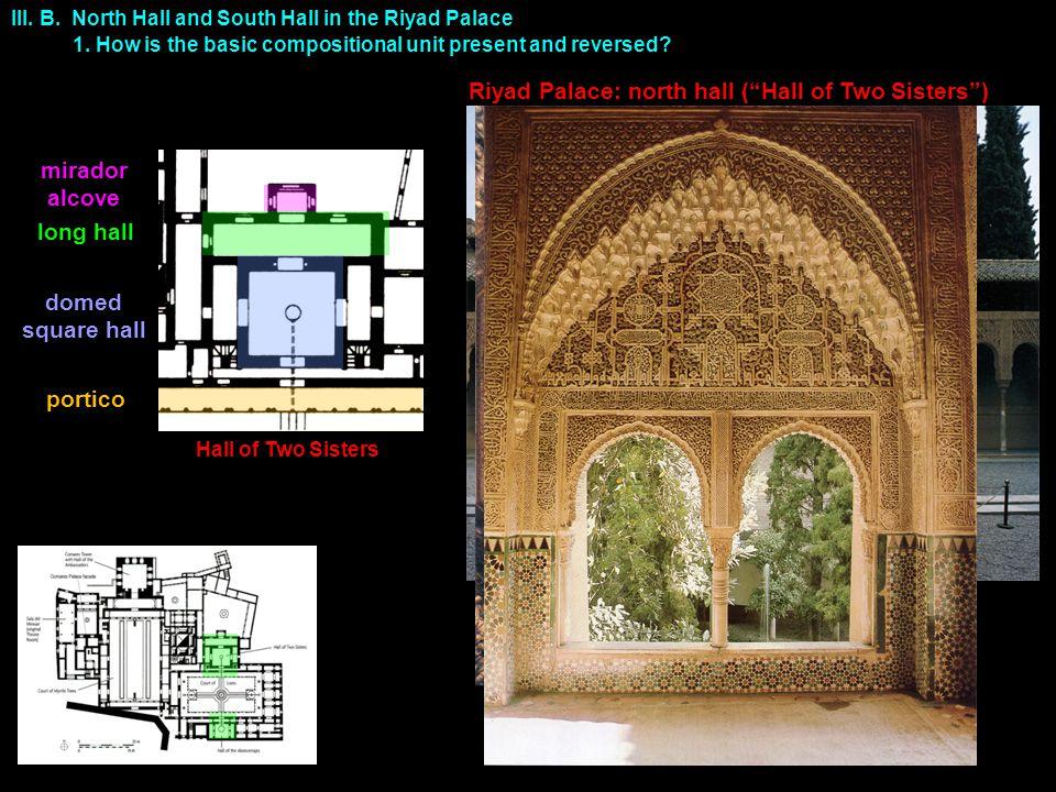 Riyad Palace: north hall ( Hall of Two Sisters ) III.