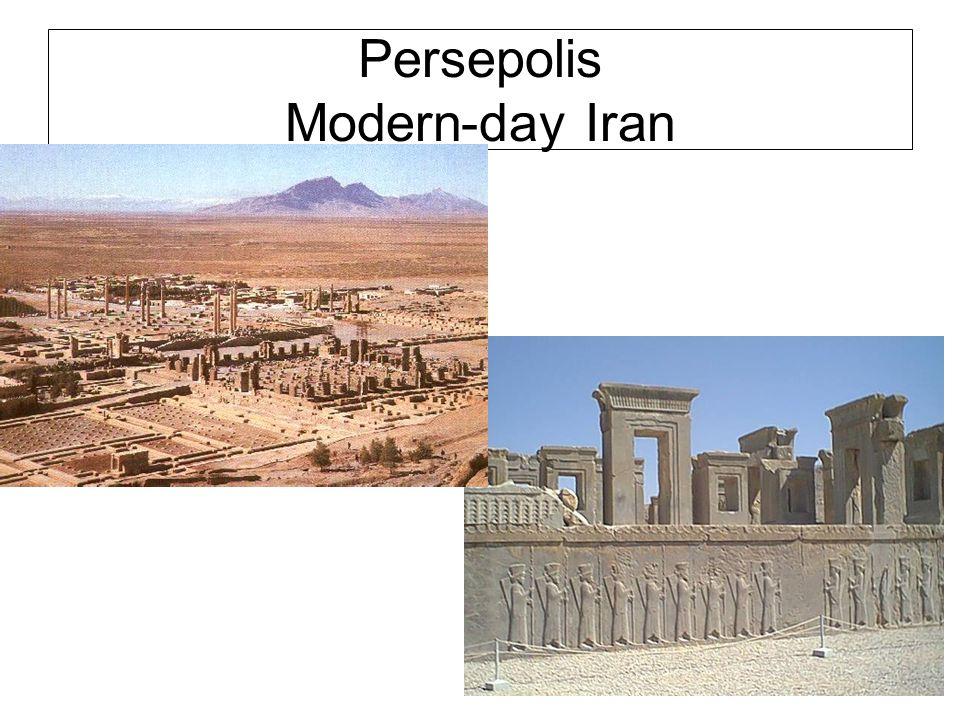 Persepolis Modern-day Iran
