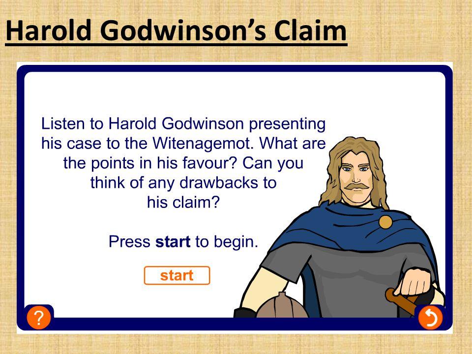 Harold Godwinson's Claim