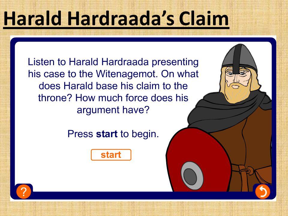 Harald Hardraada's Claim