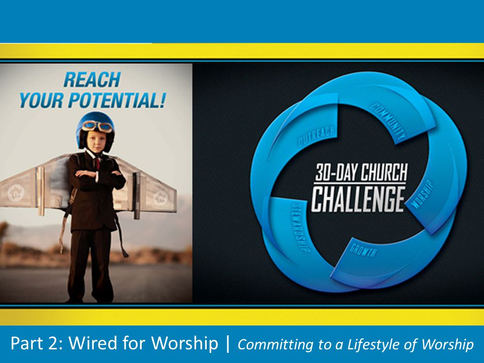 Part 2: Wired for Worship | Committing to a Lifestyle of Worship