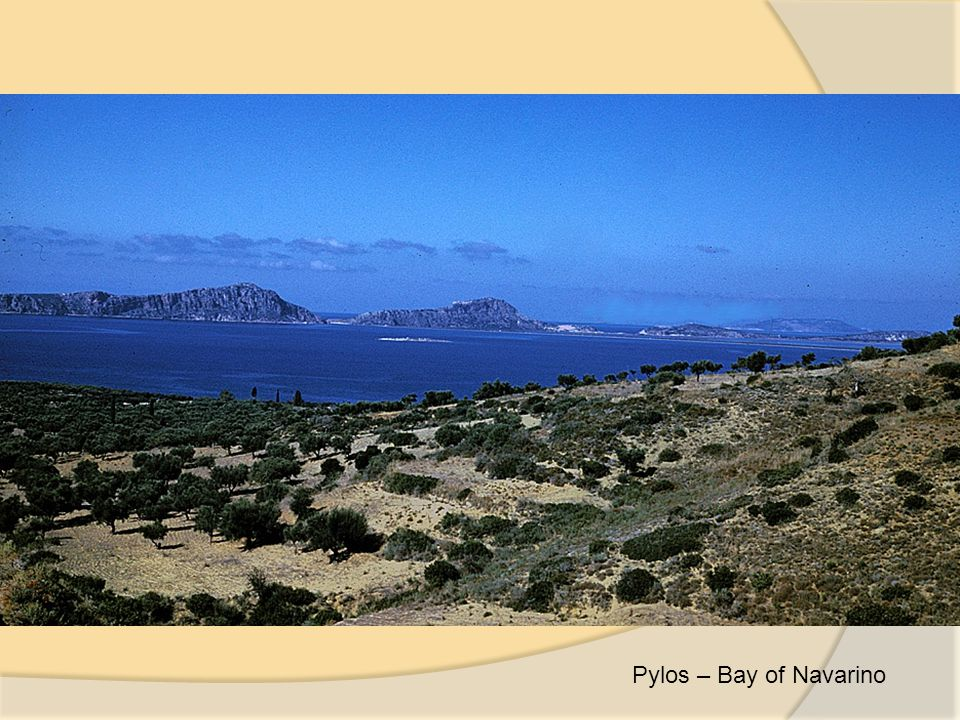 Pylos – Bay of Navarino