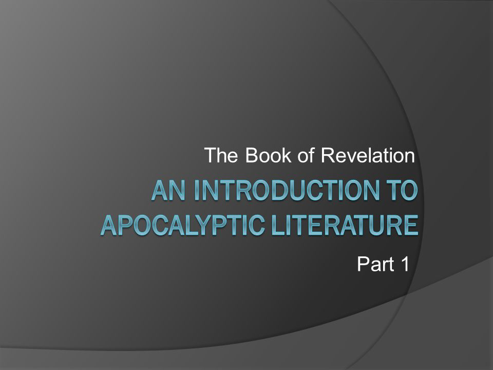 The Book of Revelation Part 1