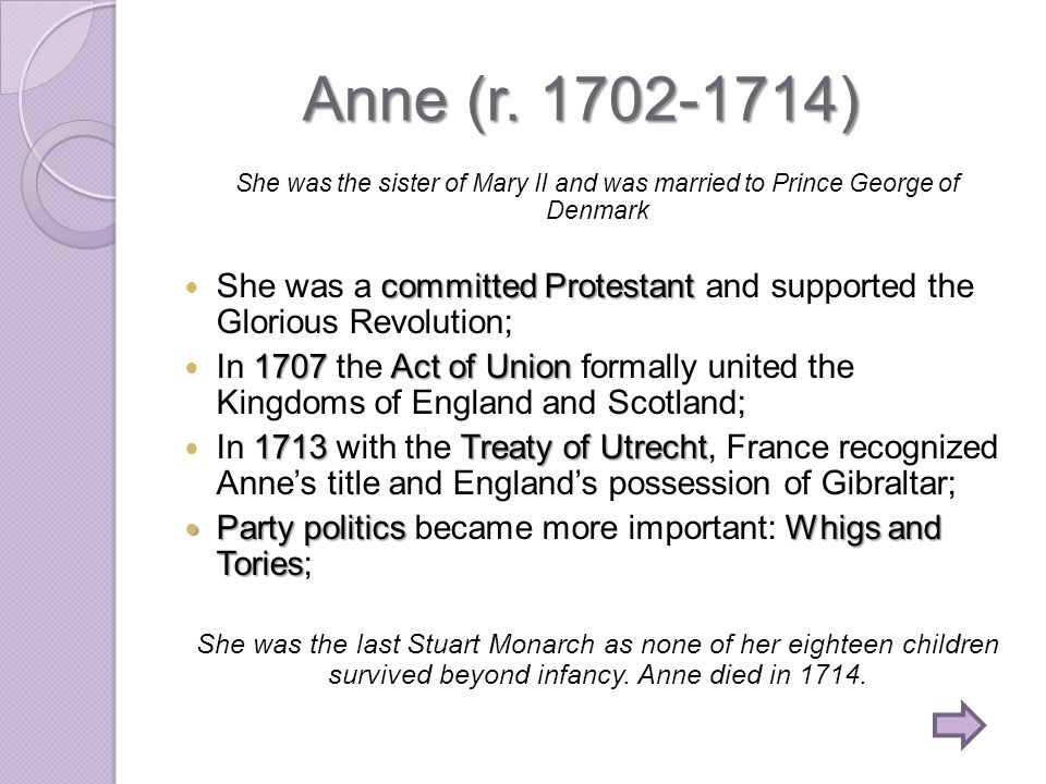 Anne (r.