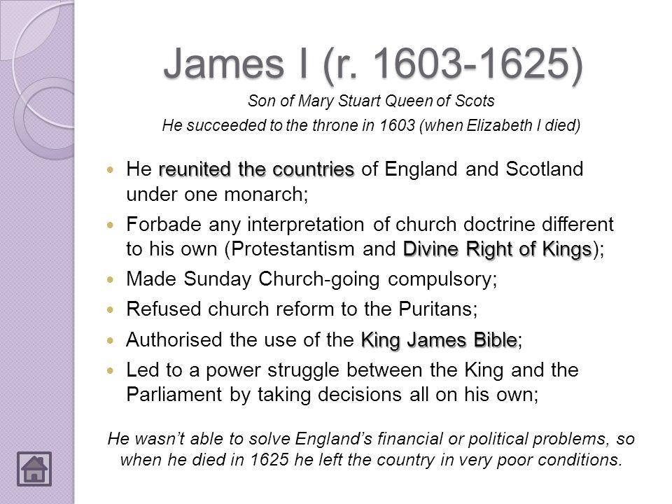 James I (r.