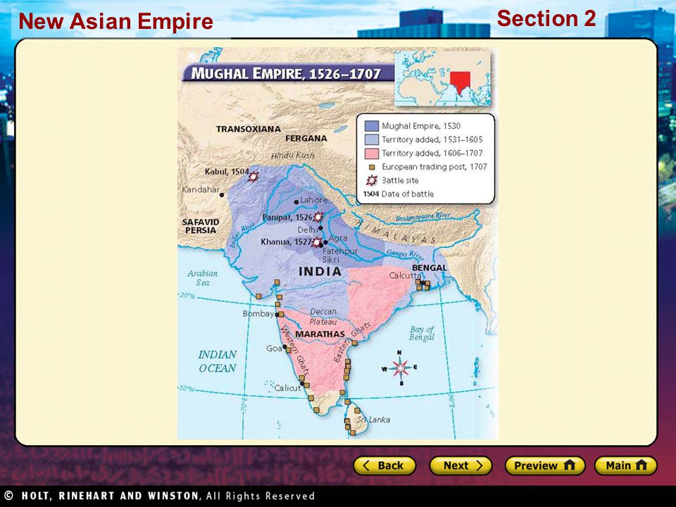 Section 2 New Asian Empire