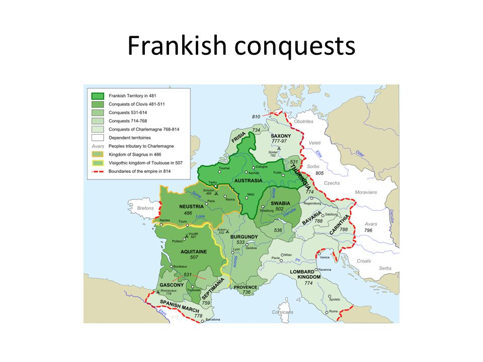 Frankish conquests