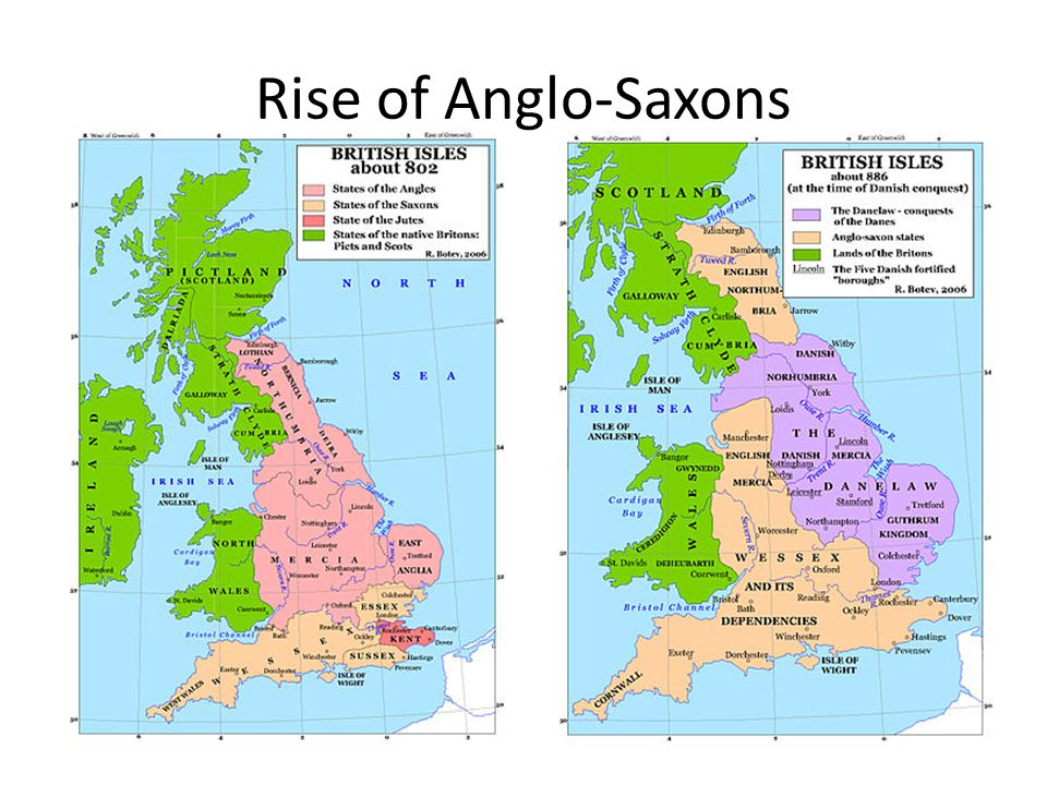 Rise of Anglo-Saxons