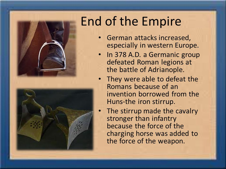 End of the Empire German attacks increased, especially in western Europe.