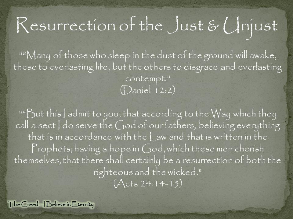 Belief in Eternal Punishment