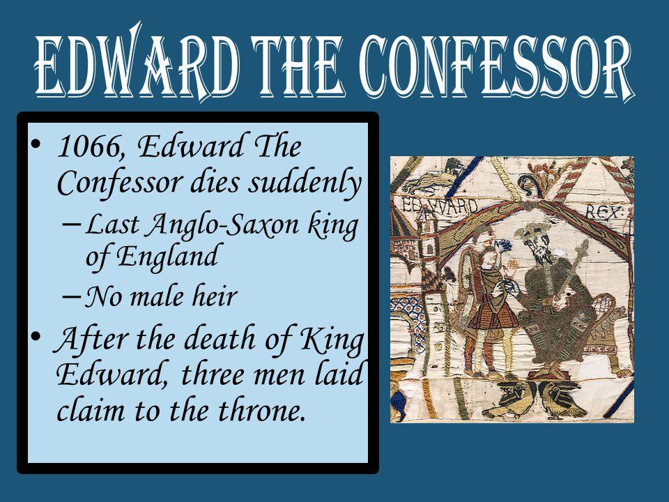 William of Normandy Harold Hardraada Harold Godwinson