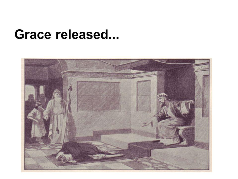 Grace released...