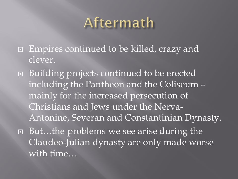  Empires continued to be killed, crazy and clever.