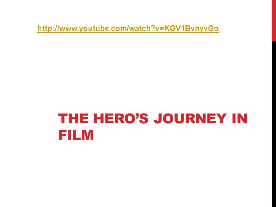 THE HERO'S JOURNEY IN FILM http://www.youtube.com/watch?v=KGV1BvnyvGo
