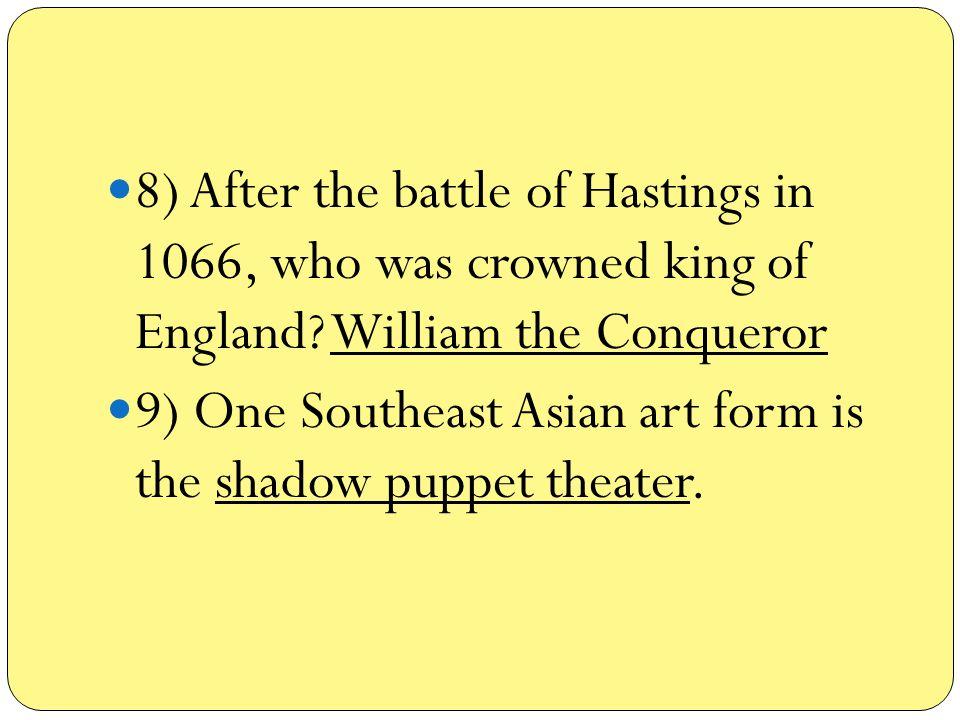 10) Richard I and Saladin negotiated through envoys.