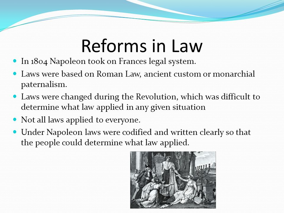 Reforms in Education Napoleon recognized the importance of education and built lycees.