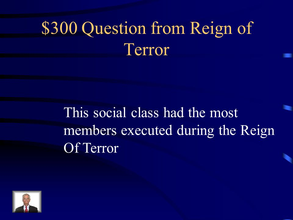 $200 Answer What is the Guillotine
