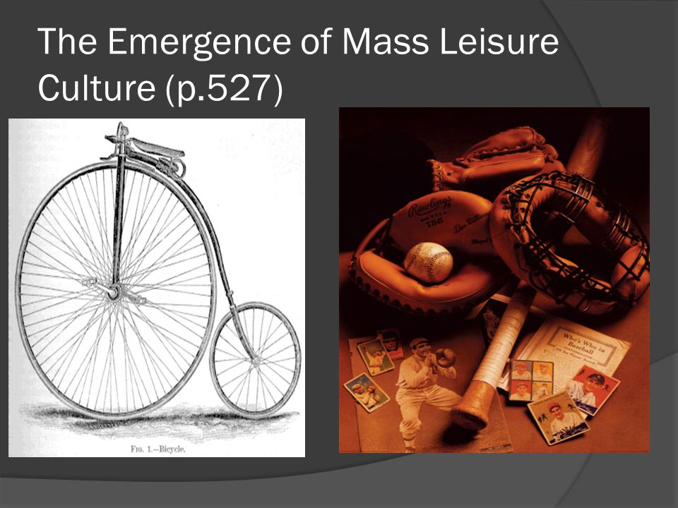 The Emergence of Mass Leisure Culture (p.527)