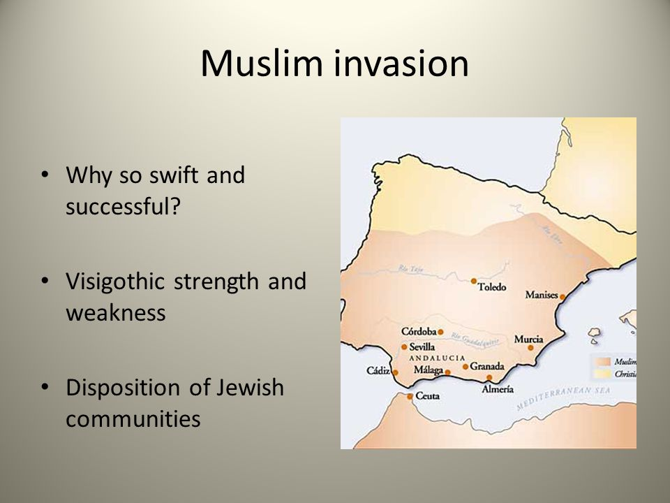 Muslim invasion Why so swift and successful.