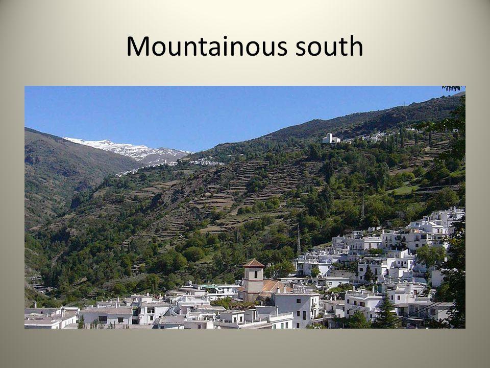 Mountainous south