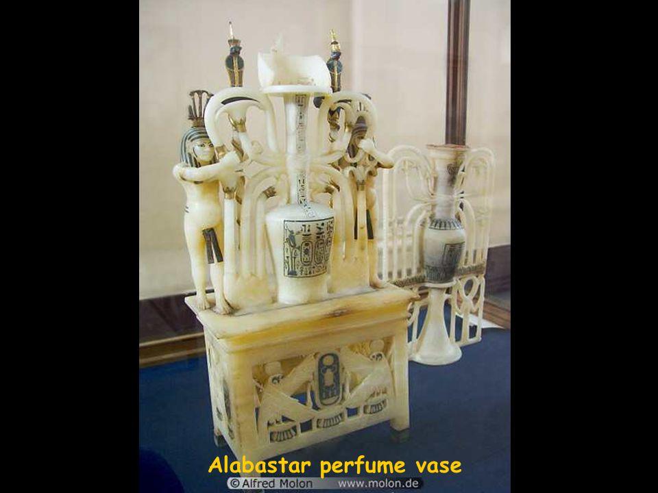 Alabaster canopic jars