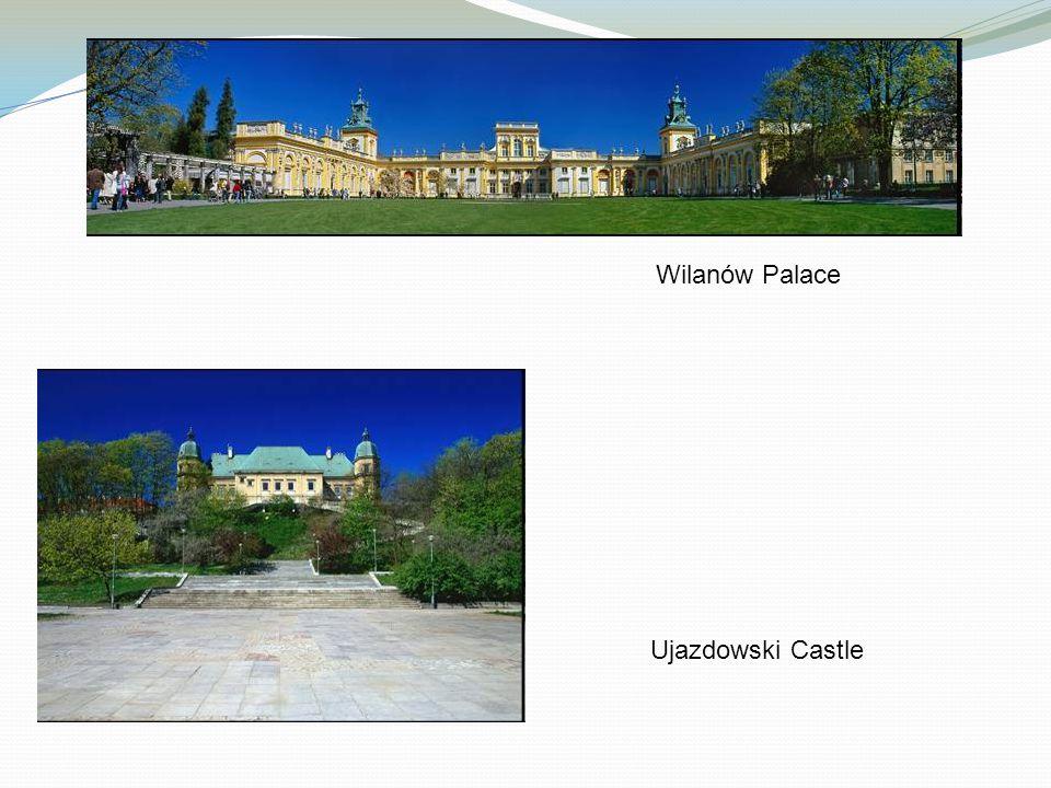 Wilanów Palace Ujazdowski Castle