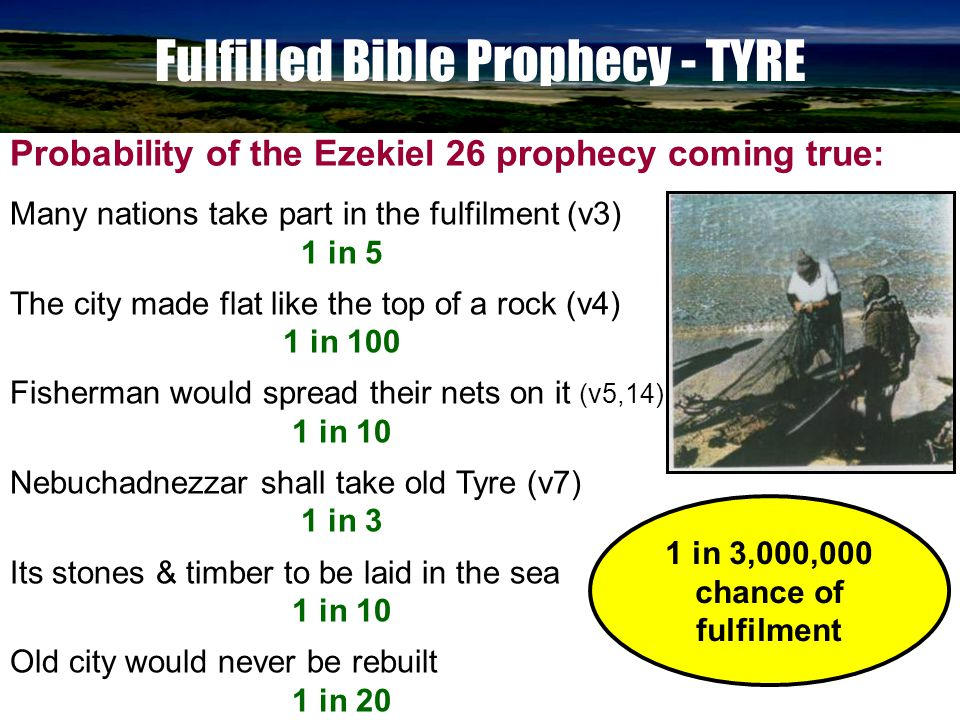 www.korbible.net Prophecy of Tyre - SUMMARY 960BC - King Hiram provided workmen & timber for the temple in Jerusalem.