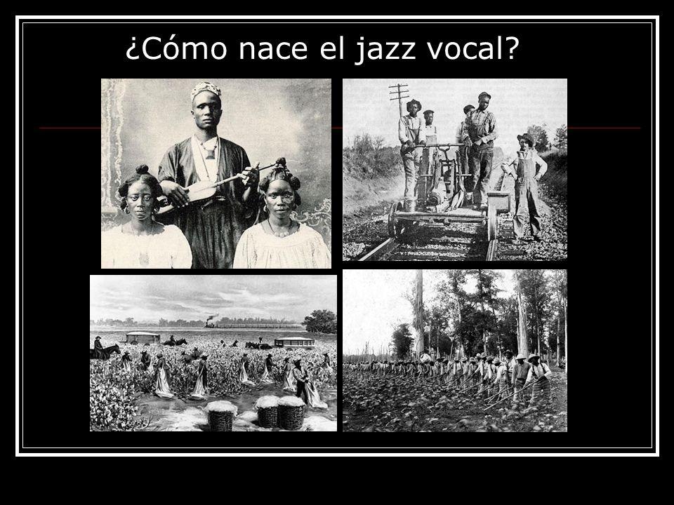 ¿Cómo nace el jazz vocal