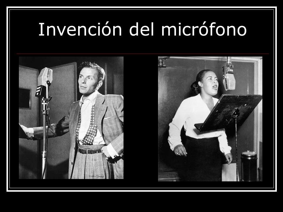 Invención del micrófono