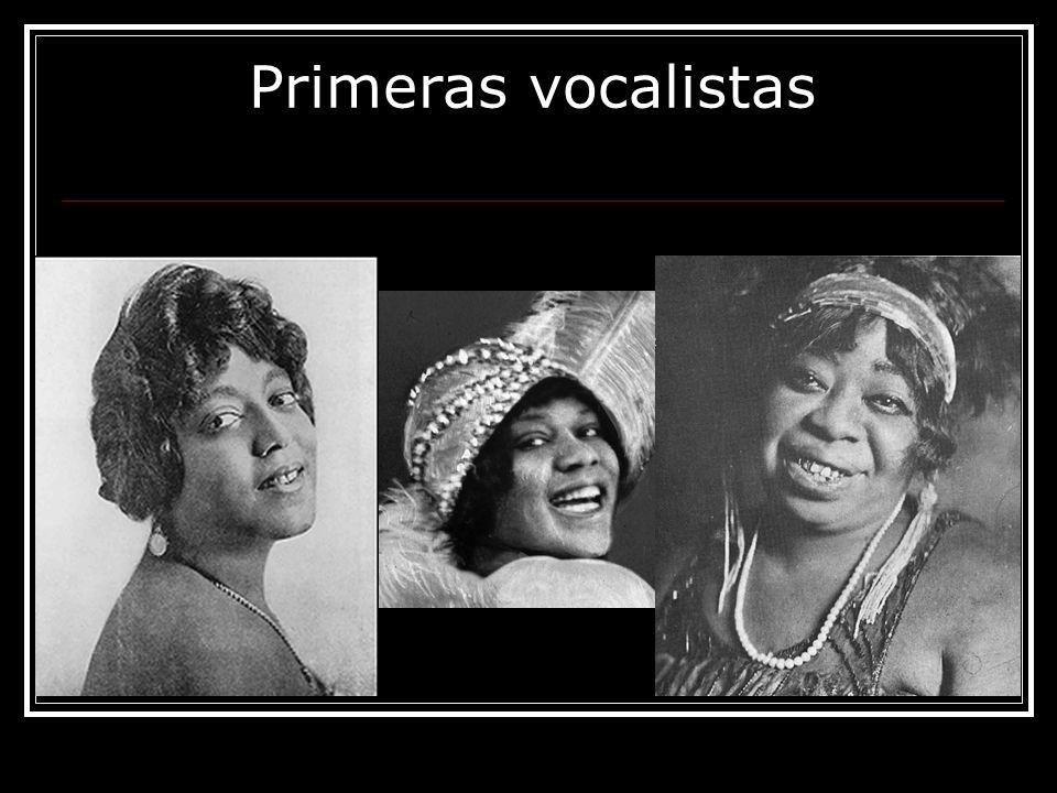 Primeras vocalistas