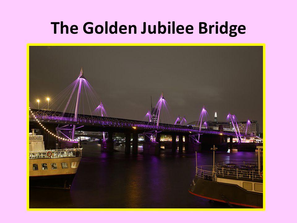 The Golden Jubilee Bridge