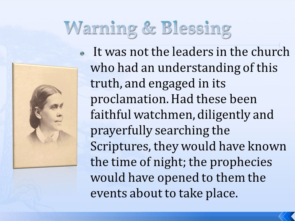  It was not the leaders in the church who had an understanding of this truth, and engaged in its proclamation.