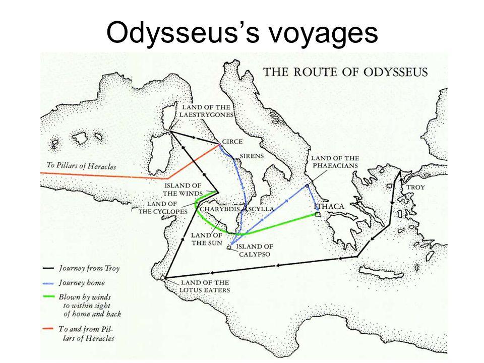 Odysseus's voyages