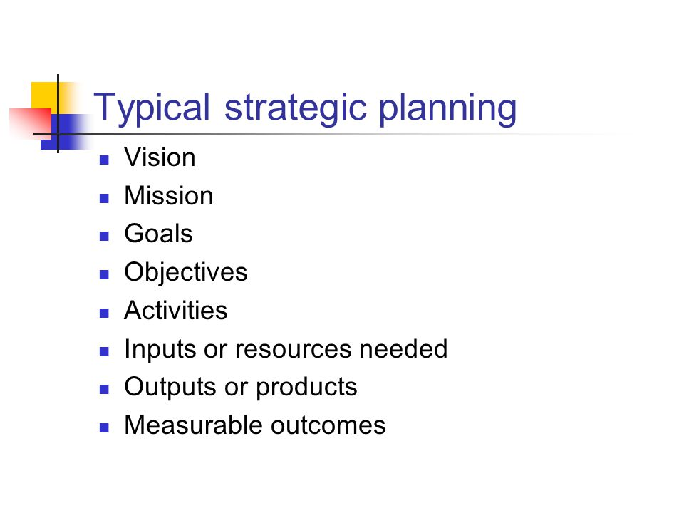 Typical technology planning management creates organizational plan IT reviews strategic direction IT identifies capabilities that meet needs review existing IT resources summarize IT needs identify system alternatives determine implementation plan develop resource/timetable steps review/present recommended plan John P.