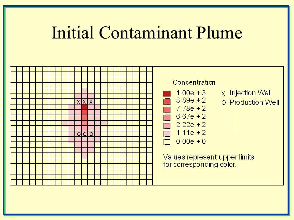 Initial Contaminant Plume