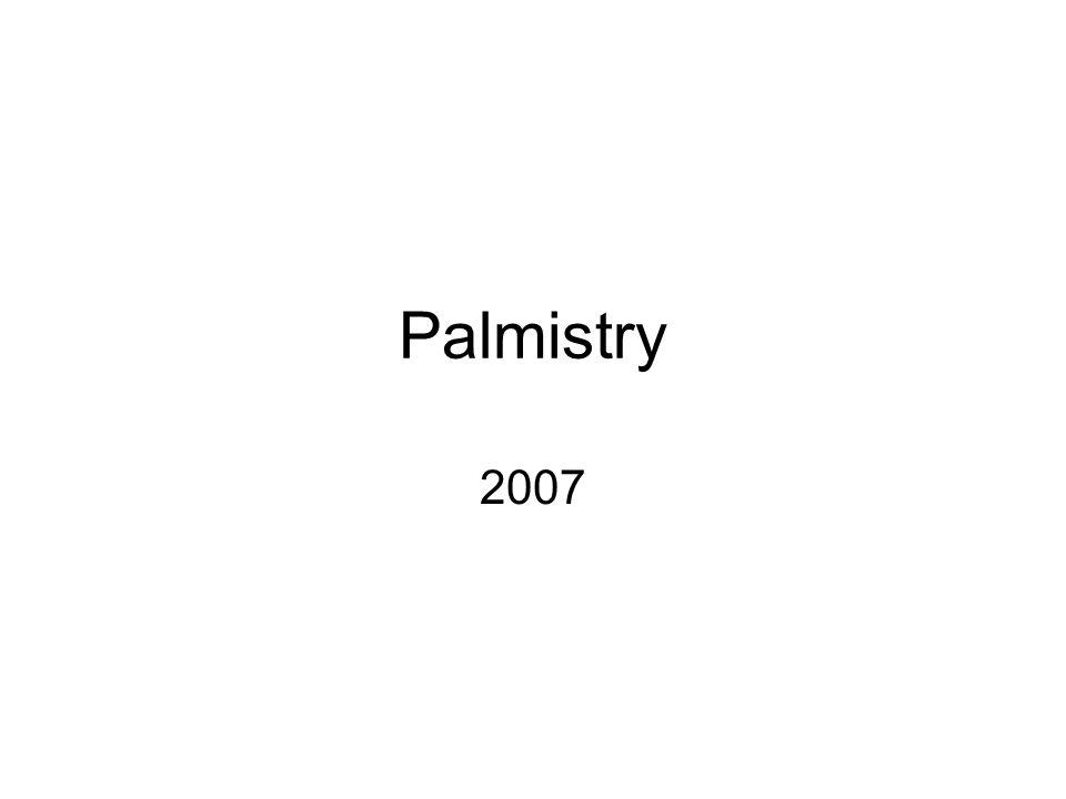 Palmistry 2007
