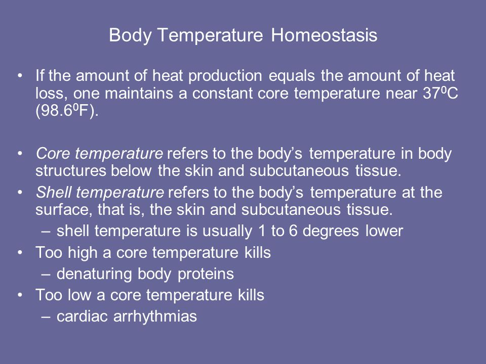 Hypothalmic Thermostat The hypothalmic thermostat is the preoptic area. Nerve impulses from the preoptic area propagate to other parts of the hypothal