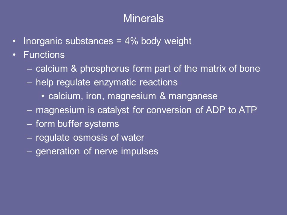 Food Guide Pyramid Foods high in complex carbohydrates serve as the base of the pyramid since they should be consumed in largest quantity. Minerals ar