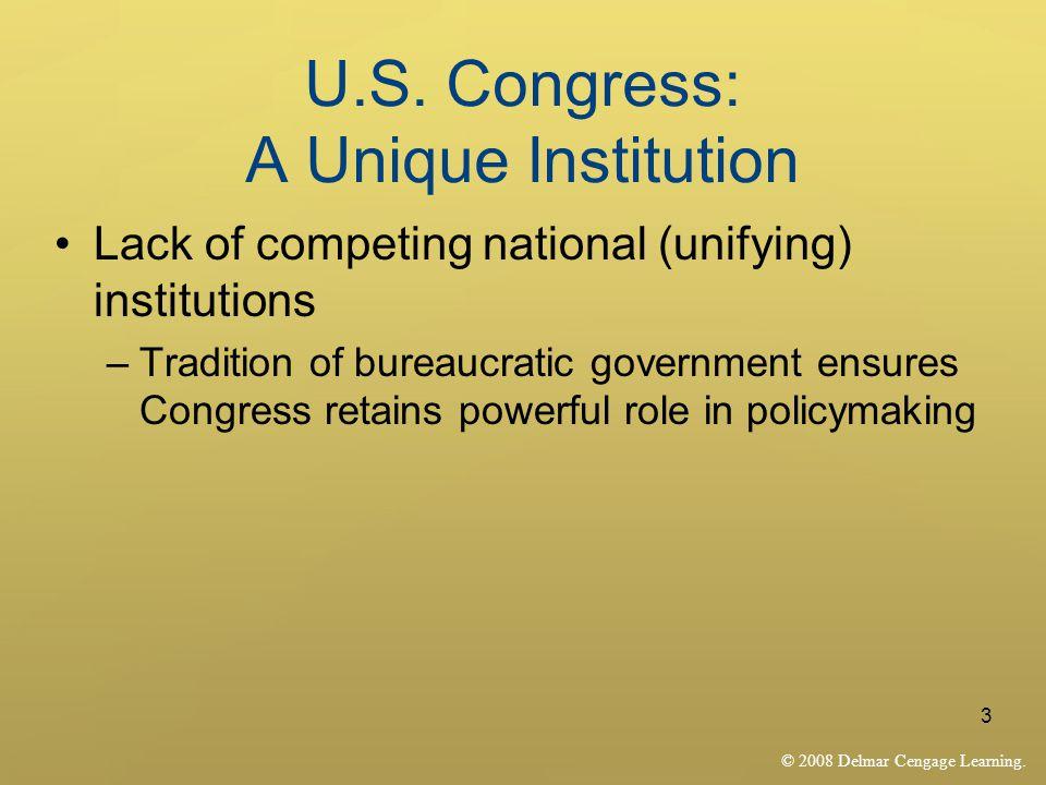© 2008 Delmar Cengage Learning.3 U.S.