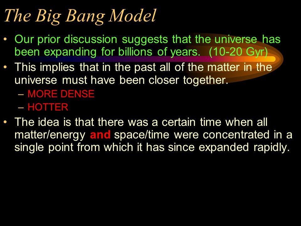 The Hot Big Bang