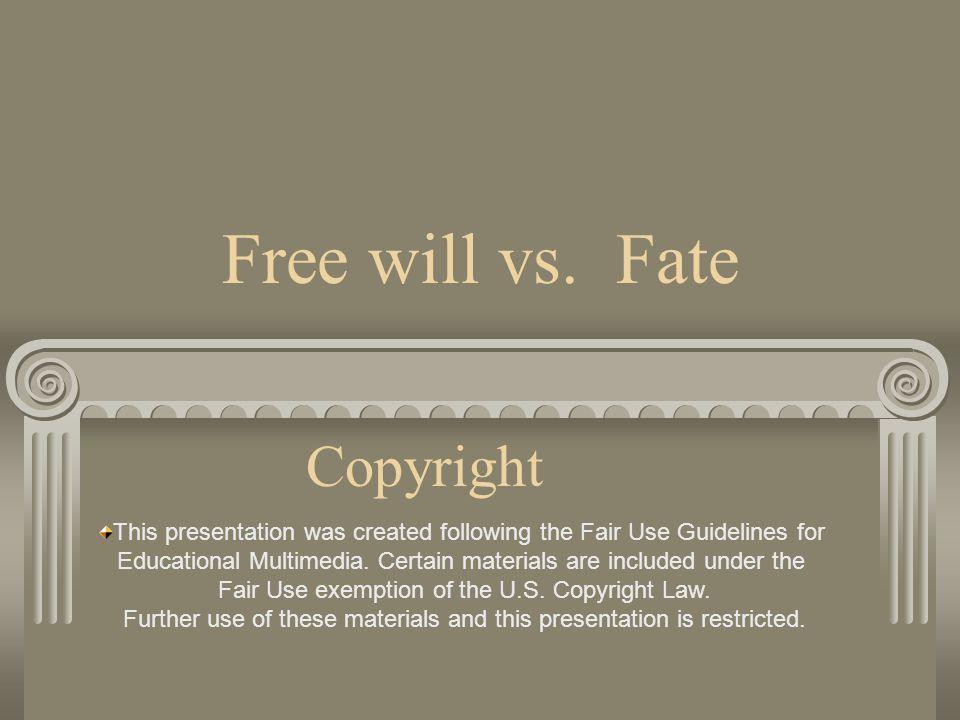 Free will vs.