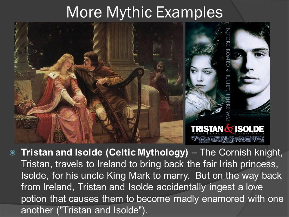 Tristan and Isolde (continued)  The great stories in our Western tradition help us meditate on the eternal dimensions of love.