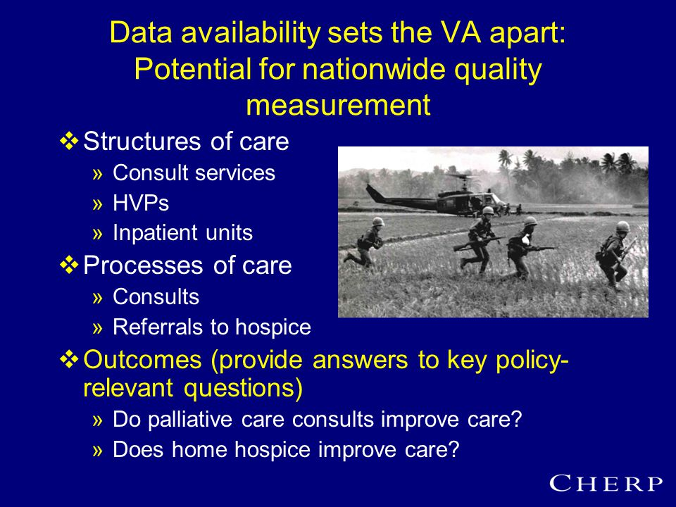 Value to the VA: Do PC consults improve care.(FATE score, n=309)  Yes: 86% vs.